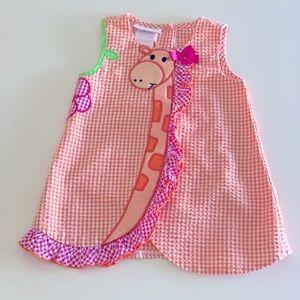 Bonnie Baby 2 piece Giraffe outfit